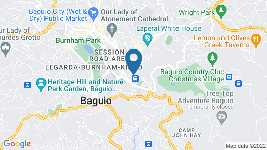 Microtel by Wyndham Baguio Map