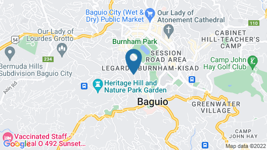 Holiday Inn Baguio City Centre, an IHG Hotel Map