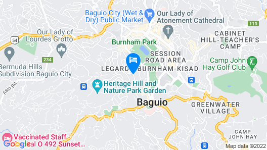 Holiday Inn Baguio City Centre Map