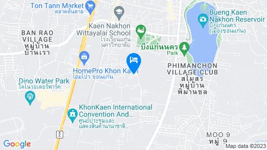 The Terminal Khon Kaen Hotel Map