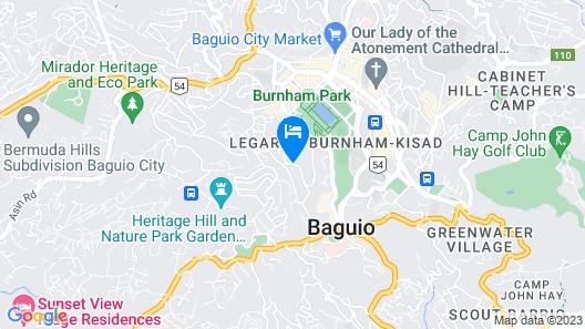 Travelite Hotel Legarda Map