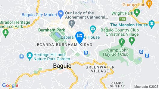 Baguio LeFern Hotel Map