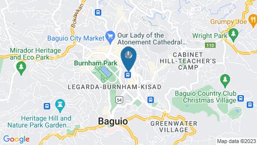 OYO 734 Baden Powell Hotel Map
