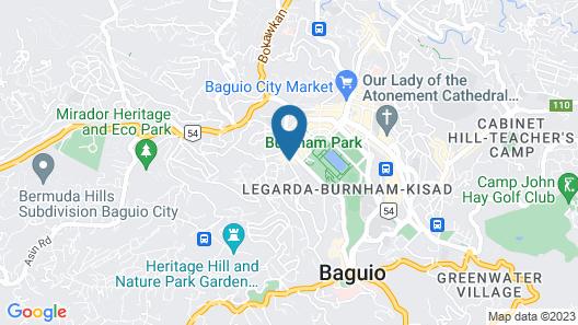 Baguio Holiday Villas Map