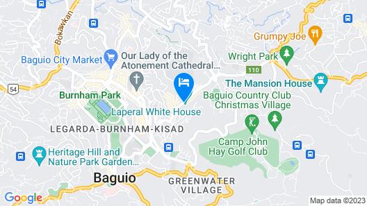 La Casa Bianca Map