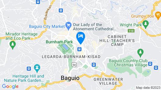 La Brea Inn Map