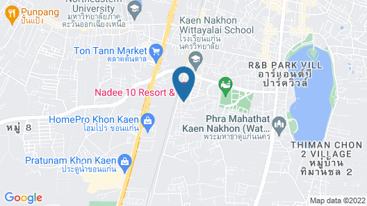 Nadee 10 Resort & Hotel Map