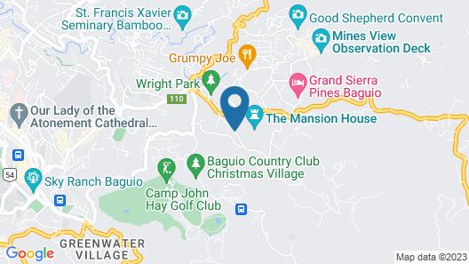Kamiseta Hotel Map