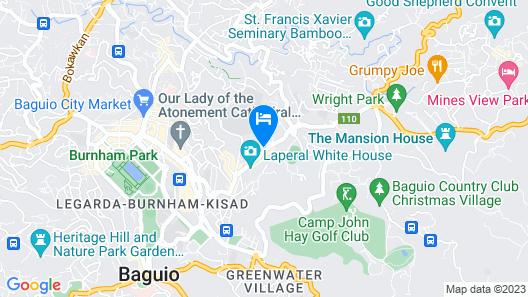 ZEN Rooms Mountain Lodge Baguio Map