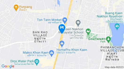 Amnauysuk Hotel Map
