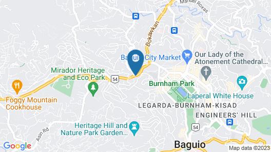 ZEN Rooms Hotel Urban Baguio Map