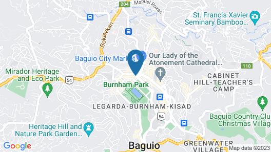 Hotel Veniz Burnham Map