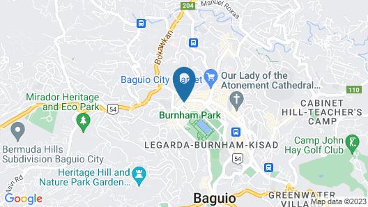 Travelite Express Hotel Map