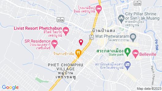Kosit Hill Hotel Petchaboon Map