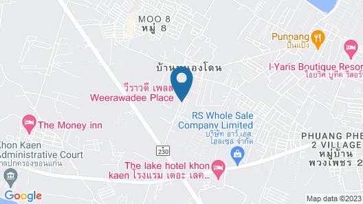 Weerawadee Place Map