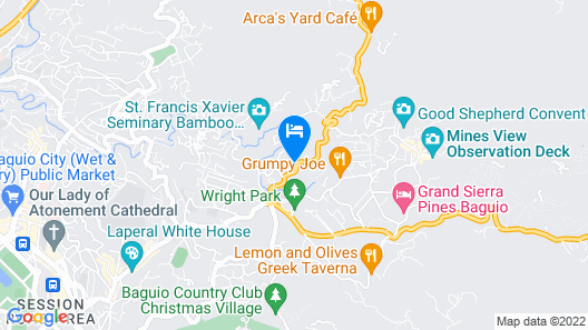 523 Bristle Ridge Map