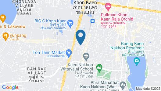 Mammoth Resort Map