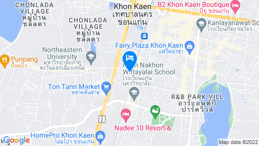 Ban Bua Resort & Hotel Map