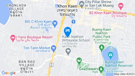 Darlington Place Map