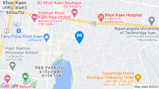 Sirin Hotel & Resident Map