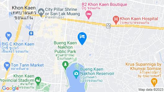 Mantra Varee Hotel Map