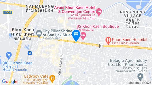 Kosa Hotel & Shopping Mall Map