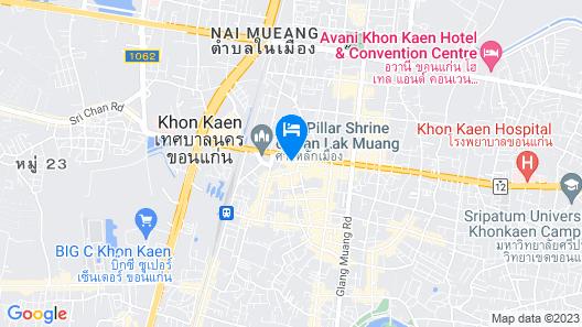 Chada Veranda Hotel Map