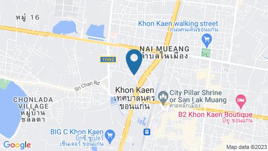 Khon Kaen Orchid Hotel Map