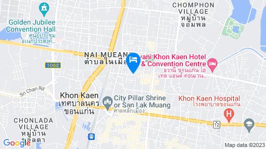 Le Cassia Hotel Map