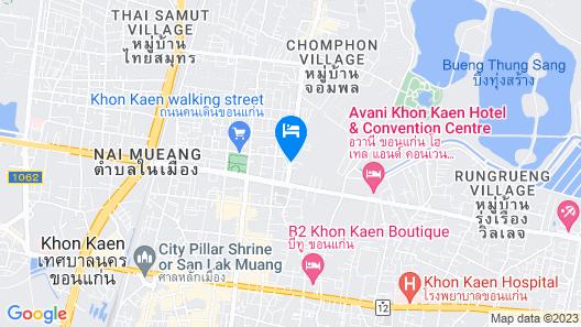 Romantic Hotel Khonkaen Map