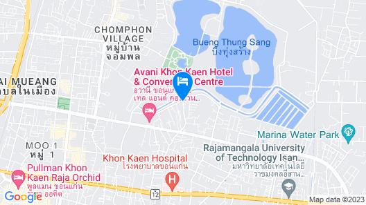 Baanthanthip Hotel Map