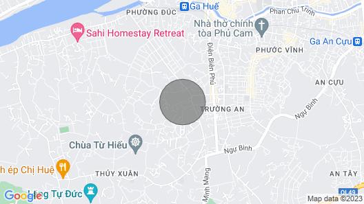 Hillside homestay Hue - Mansion room  Map