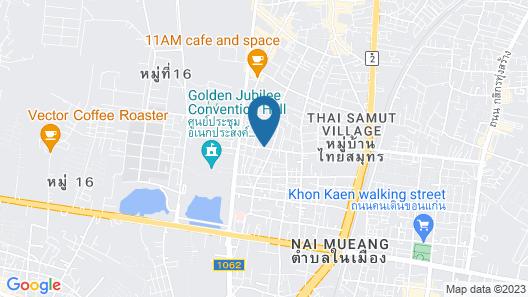 The 1 Place Khonkaen Map