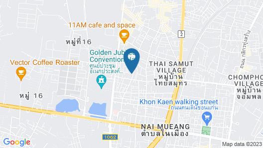 Loft Living Khonkaen Map