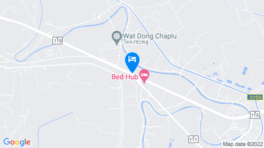 Bed Hub Hotel Map