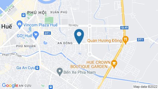 Memory Homestay Map