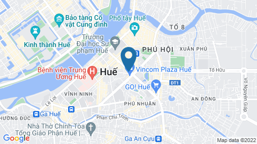 Vinpearl Hotel Hue Map