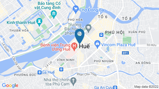 Hue Sweethouse Homestay Map