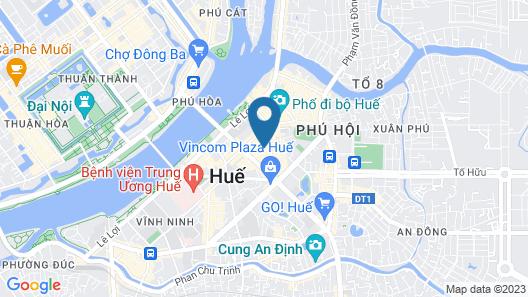 SENNA HUE HOTEL Map