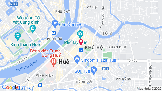 Romance Hotel Map