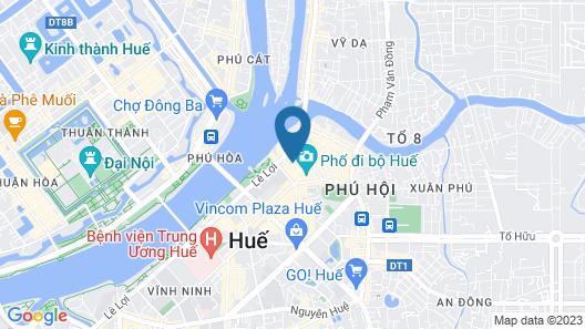 Moonlight Hotel Hue Map