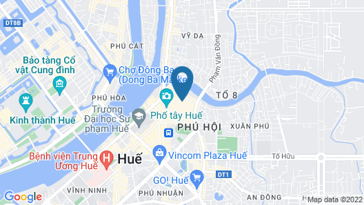 Hue Serene Palace Hotel Map
