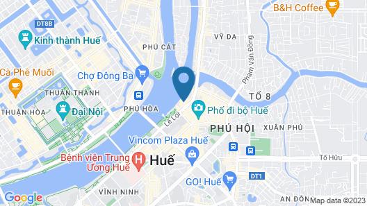 Century Riverside Hotel Hue Map