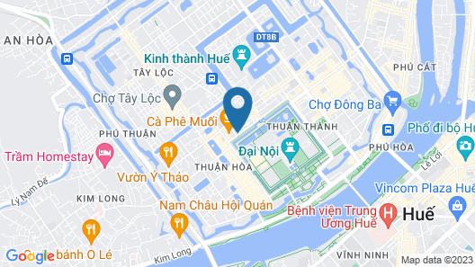 Hue 1962 Inn Map