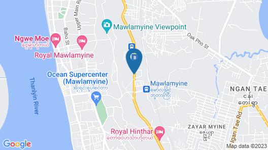 Royal Hinthar Hotel Map