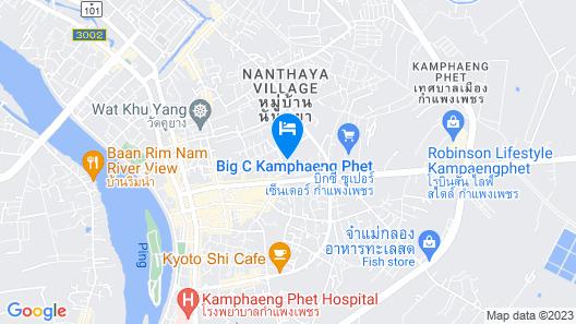 P Paradise Hotel Map