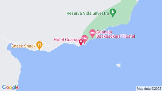 Hotel Guanaja Map
