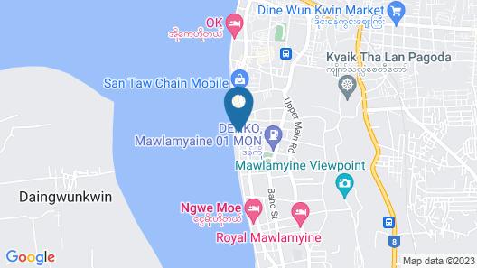 Hotel Suggati Mawlamyaing Map