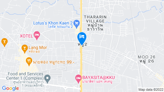 I-Hotel Khonkaen Map