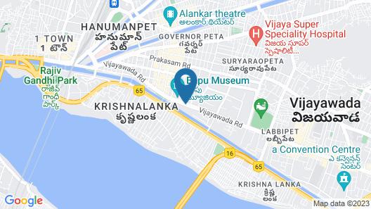Lemon Tree Premier Vijayawada Map